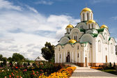 Skeet monastero krasnohirskyy, città zolotonoša, regione di čerkasy, ucraina — Foto Stock