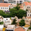 View of Athens from the heights, Peloponnese, Greece — Stock Photo