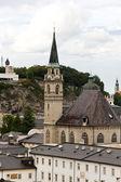 Stadt salzburg in deutschland, europa. — Stockfoto