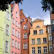 Colorful buildings in Gdansk, Poland, Europe. — Stock Photo #31357019