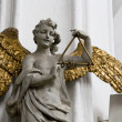 Angels with gilded wings in cathedral in Gdansk, Poland, Europe — Stock Photo #31357021