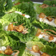 Stock Photo: Mini Caesar Salads