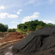 Coal Stock pile - Stock Photo