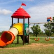 Modern children playground — Stock Photo