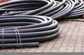 Electrical conduits — Stock Photo