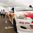 Stock Photo: ToyotOne Make Race 2012