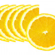Slice of orange - Stock Photo