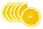 Slice of orange — Stock Photo