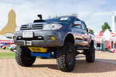 Toyota een race 2012 toon — Stockfoto