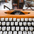 Language typewriter Thai — Stock Photo