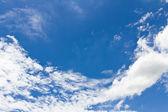 Красивое синее небо — Стоковое фото