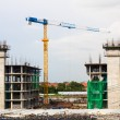 Stock Photo: Building crane