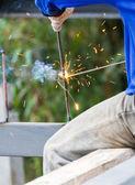 焊接机 — 图库照片