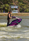 Freestyle the Jet Ski stunt action — Zdjęcie stockowe