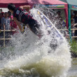 Постер, плакат: Show Freestyle the Jet Ski stunt action