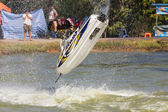 Show Freestyle the Jet Ski stunt action — Foto Stock