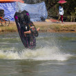 Show Freestyle the Jet Ski stunt action — Stock Photo
