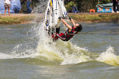 Show Freestyle the Jet Ski stunt action — Foto de Stock