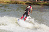 Show Freestyle the Jet Ski stunt action — 图库照片
