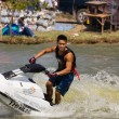 Freestyle the Jet Ski stunt action — Stock Photo