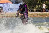 Show Freestyle the Jet Ski stunt action — Foto Stock