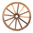 Wooden cartwheel — Stock Photo #20992925