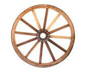 木制车轮 — 图库照片