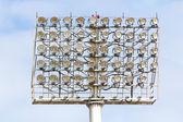 Stadium Spot-light tower — Stock Photo