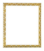 Wooden vintage frame — Stock Photo