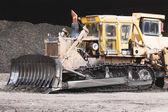 Bulldozer working — Stock Photo