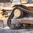 Stockfoto: Bulldozer working