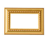 Golden vintage frame — Stock Photo