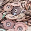 Old sanding discs — Stock Photo #30253119