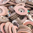 Old sanding discs — Stock Photo #30892211