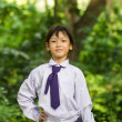 Asian girl student — Stock Photo