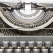Manual  typewriter — Stockfoto