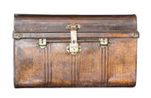 Old metal treasure chest — Stock Photo