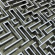 Comics-style closeup illustration of labyrinth — Stock Photo #14031747