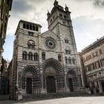 San Lorenzo cathedral church — Stock Photo