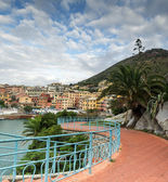 Promenade in Nervi — Stock Photo