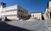 IV november Square,Perugia city — Stock Photo