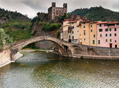 Ancient village of Dolceacqua — Stock Photo