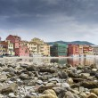 Bay of silence, Sestri Levante, Liguria, Italy - Stock Photo