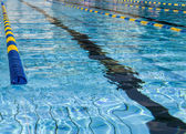 Lane swimming pool — Stock Photo