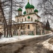 The church of Ilya the Iliya he Prophet in Yaroslavl — Stock Photo