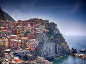 Manarola, an ancient village of the Riviera di Levante — Stock Photo