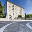 Abbey of Montecassino — Foto Stock