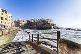 Boccadasse, a small village of Genoa — Zdjęcie stockowe