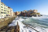 Boccadasse, a small village of Genoa — Foto Stock