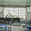 Cockpit of a train — Stock Photo